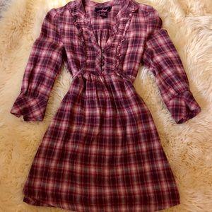 Jack by B.B. Dakota Plaid Dress, Size M